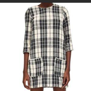 Tarafaluc tweed dress  new never worn s